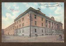 1908 Armory Louisville KY  ~ Vintage Postcard