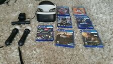 PSVR Mega Mega Bundle 7+ games, 2 Move Controllers ($850 retail if bought new)