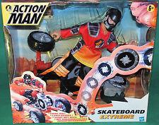 "Very Rare Original 12"" Inch Action Man Skateboard Extreme Mib Hasbro 1999"
