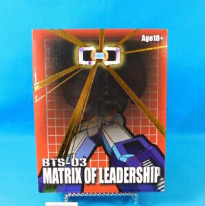 Matrix of Leadership Accessory Pack BTS-03 Transformers BTS Toys 2010 in Box A14