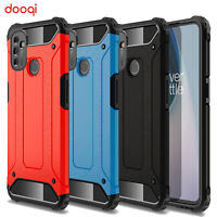 For OnePlus Nord N100 / N10 5G Armor Protective Case + Tempered Glass Protector