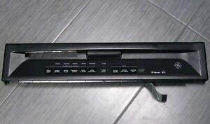 OEM GE TRITON XL Dishwasher Escutcheon/Touchpad Control Panel Assembly Black