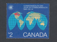 COMMONWEALTH DAY = Canada 1983 #977 MNH