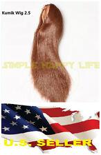 ❶❶1/6 Female RED brown Hair Wig 2.5 for Head Sculpt Kumik Hot Toys Custom USA❶❶