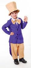 Fábrica De Chocolate Wonka Disfraz de caracteres jefe Semana Libro Edad 7 - 11