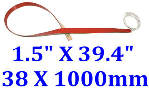 "1.5"" X 39.4"" 38 X 1000mm 120V 200W w/ 3M JSRGO CE UL Bending Pre-Heating Strip"