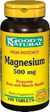 GNN Magnesium 500mg 100tabs, for Bone & Muscle Health