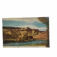 Vintage Postcard Picture of Gorge On John Day River, Central Oregon (Unposted)