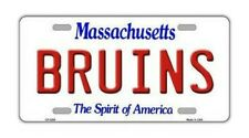 Metall Vanity Kennzeichen Abdeckung Boston Bruins Hockey Team 12 X 6