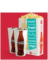 AMC Theaters (2x) Large Drinks and (1x) Popcorn Voucher Coke || Fast e-Delivery!