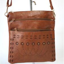 Women PU Leather Shoulder Cross body Bag Messenger Handbag