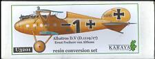 Karaya Models 1/32 ALBATROS D.V German Fighter Resin Upgrade Set