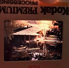Kodak Color Slide 35mm Architecture House Diagonal Lines