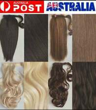 New Thick Wrap Ponytail Clip in Pony Tail Hair Extensions Real Natural as Human