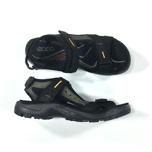 ECCO Yucatan Trail Hiking Sandals EUR 44 Mens US Size 10-10.5 Black