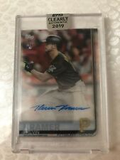 New Listing2019 Topps Clearly Authentic Kevin Kramer #Caa-Kk Rookie Auto Rc