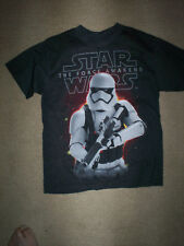 Two Star Wars Long Sleeve T-Shirts Age 8 BB8 /& Storm Trooper BNWT Disney bundle
