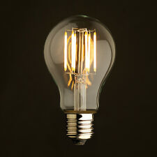 Vintage Style Edison LED Bulb 6W Dimmable Filament Lighting A19 E26 2700K 120V