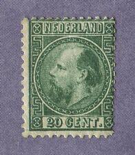 Ned. 1867 Willem 3 Nr. 10IA  M.H Cat.w. € 1250,= schaars met volle gom zien!!!