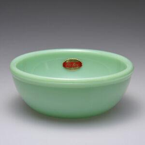 Heritage Fire-King 15oz Bowl Jade-ite Fire King Japan Milk Glass