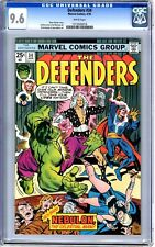 Defenders  #34  CGC  9.6  NM+  white pages