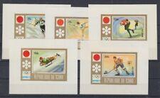 Le Tchad 502-6 B Sonderblocks Jeux Olympiques Sarajevo 1972 (MNH)