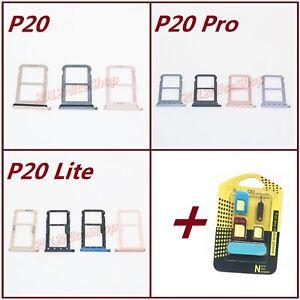 OEM Nano Sim Card SD Card Tray Slot Holder For Huawei P20 / P20 Pro / P20 Lite