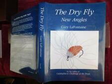 DRY FLY NEW ANGLES by GARY LaFONTAINE/GRAYUM/FISHING/BIG 1990 1st SIGNED