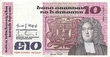 Ireland  10  Pounds  05.01.1987  Series  ABH  Circulated Banknote LA/NY