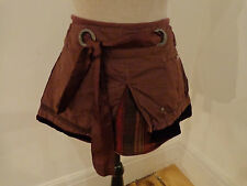 Firetrap Plum Colour 'Ginsberg' Tartan Check Skirt. Size 28