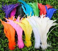Wholesale! Beautiful rooster tail feathers 12-14inches / 30-35 cm10-100 pcs
