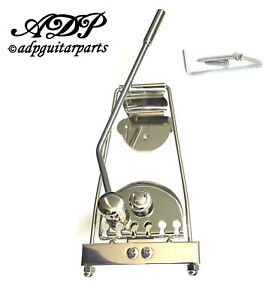 Goldo long Nickel Tremolo for Hollowbody guitars