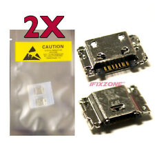 2 X New Micro USB Charging Port For T-MOBILE Samsung Galaxy TAB A SM-T357T USA
