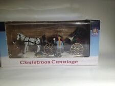 Lemax Carole Towne Collection Christmas Carriage
