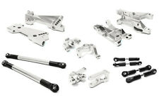 C26457SILVER Integy Billet Machined Suspension Kit for Vaterra Twin Hammers 1.9