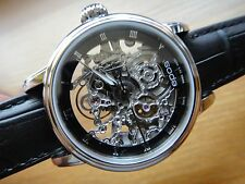 EPOS Lady's Emotion 34mm Automatic self-winding SKELETON 4390.155 ETA 2892-A2