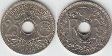 Gertbrolen 25 Centimes maillechort 1939  Superbe brillant de frappe Poids 4,18