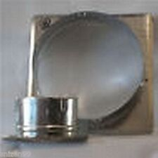 ALLVENT SQUARE DUCT TO WALL CONNECTOR 300MM
