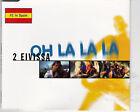 MAXI CD SINGLE 6T 2 EIVISSA OH LA LA LA DE 1997