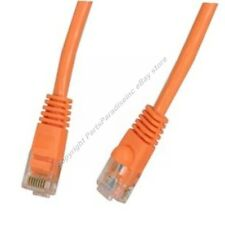 Lot10 2ft Cat5e Ethernet Cable/Cord $SHIP DISC{Orange{H