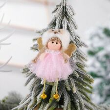 Christmas Pink Bell Angel Pendant Xmas Tree Hanging Decoration Ornaments HOT