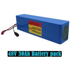 High capacity 48v battery 48v 30Ah 1000w 13S3P Lithium ion Battery Pack For 54.6