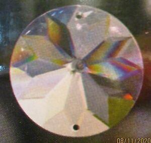 5 Sonnen 40 mm, 2-Löcher Asfour Crystal, Fensterschmuck Lampenschmuck #72
