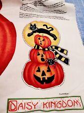 New listing Pumpkin Cat Halloween Cotton Haunted House Cotton Daisy Kingdom Yard Panel
