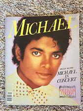 1984 Michael Jackson in Concert Souvenir Edition Picture Book Thriller
