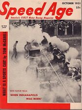 Speed Age Magazine October 1951 Russ Catlin Indianapolis 080217nonjhe