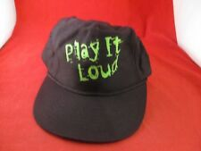 Nintendo Game Boy Play It Loud Promotional Hat Promo Black Baseball Cap