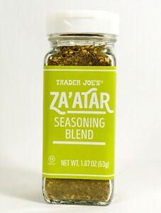 Trader Joe's Za'atar Seasoning Blend 1.87oz-53g Jar Zaatar Zatar Middle Eastern