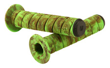 Felt Bikes Gribble BMX bicycle grips - 142mm - BLACK FOREST (green & brown)