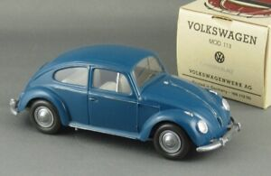 Vintage 1961 Wiking Vw Volkswagen Beetle 1/40 Promo Mint & Boxed Super Example!